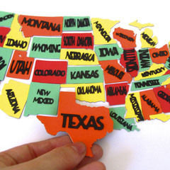 50 States Magnets