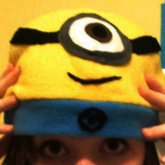 Minion Hat!!!!! (With Link To Tutorial)