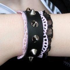 Studded Belt Bracelets