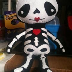 Skeleton Plush