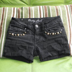 Denim Jeans To Studded Shorts