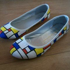 De Stijl/Mondrian Shoes