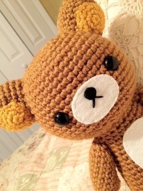 Amigurumi Rat : Amigurumi Rilakkuma ? A Bear Plushie ? Needlework, Sewing ...