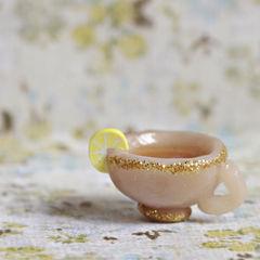 Polymer Clay Green Tea