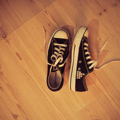 Studded Converse All Stars