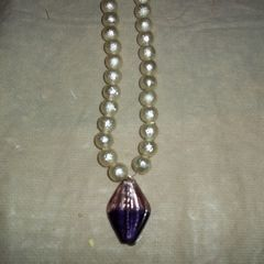 Purple Diamond Necklace