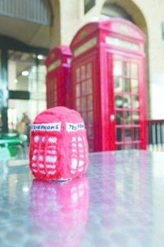 Telephone Box Plushie