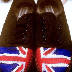 Punk Union Jack Shoes