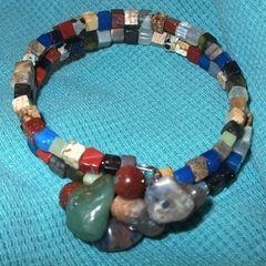 Semiprecious Stone Bangle