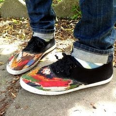 Snazzed Up Shoes