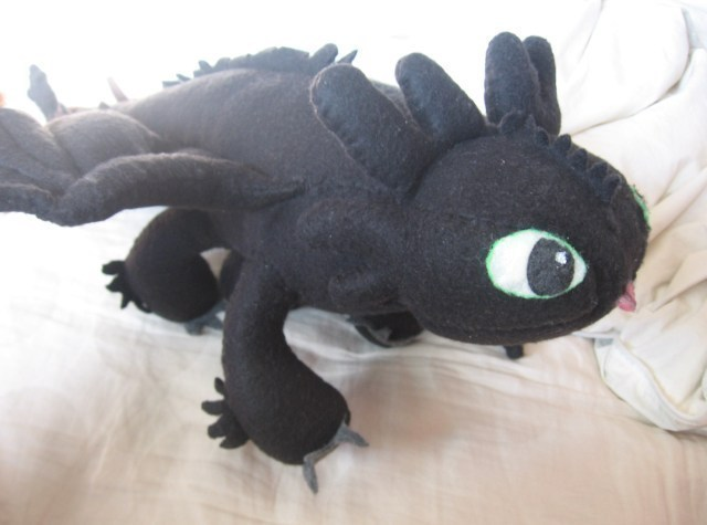 Toothless 183 A Food Plushie 183 Construction Decorating And