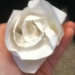 Konan's Origami Rose