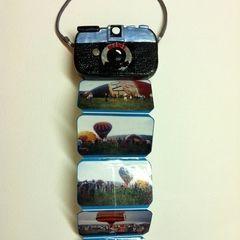 Mini Photo Album Tin