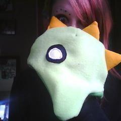 Fleece Dino Hat
