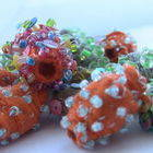 Square small fabricbeads