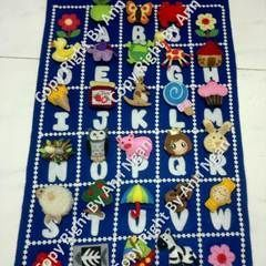 Felt Alphabet Hanging Matching Games