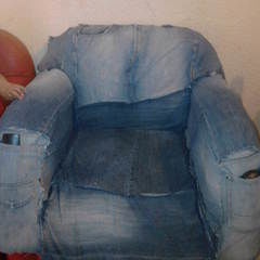 Cute Denim Sofa Saver