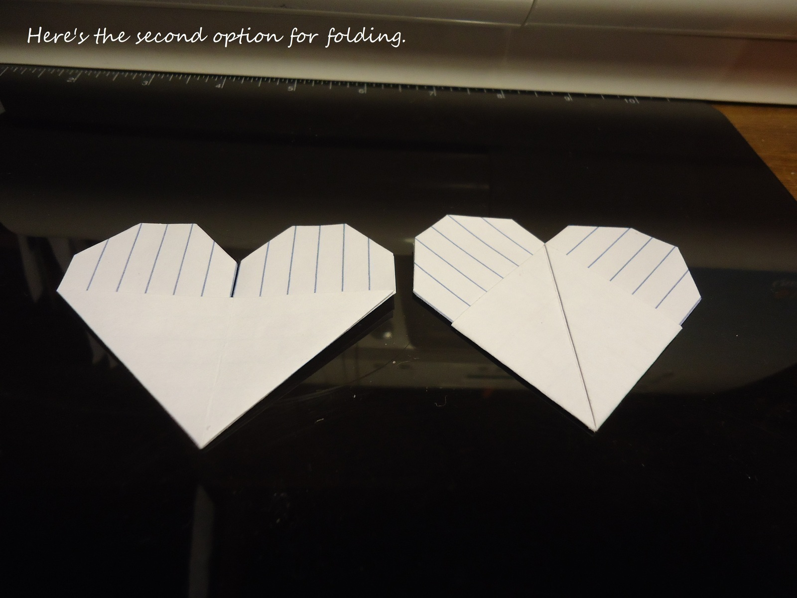 origami index card heart 183 how to fold an origami shape