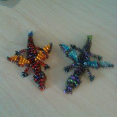 Simple Beaded Dragons