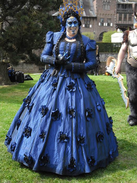 The Blue Elf Queen Costume 183 An Elf Costume 183 Dressmaking
