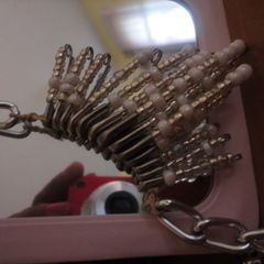 Safety Pin Necklace.