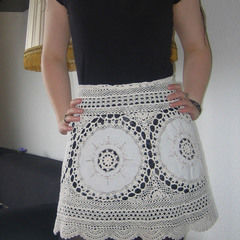 Lace Skirt Out Of Granny´S Tablecloth
