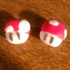 Tutorial How I Do My Mario Mushrooms In Polymer Clay