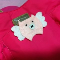 Flying Piggy Pin