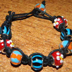 Square Knot Bracelet.