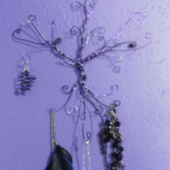 Wire Tree Jewelry Holder