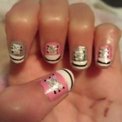 Shoe Nail Art!