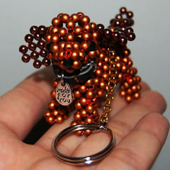 3 D Beaded Puppy