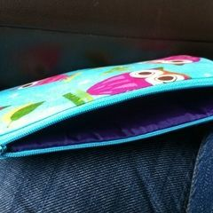 Zippered Make Up Bag