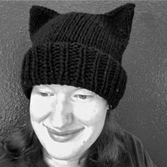Knitted Cat Hat