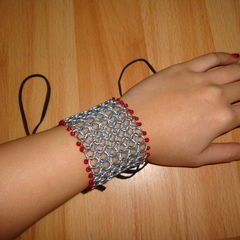 Chainmaille Bracers