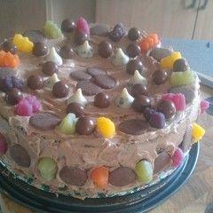 Chocolate Cherry Cola Birthday Cake