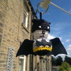 Batman Bat Keyring