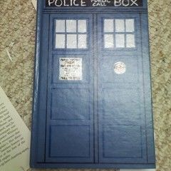 Tardis Hidden Book Box