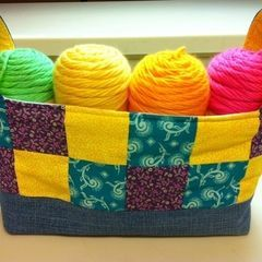 Fabric Stash Basket