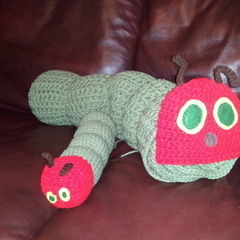 The Very Hungry Caterpillar Crochet Blanket And Toy