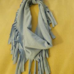 T Shirt Scarfs: Summer Tassle Scarf
