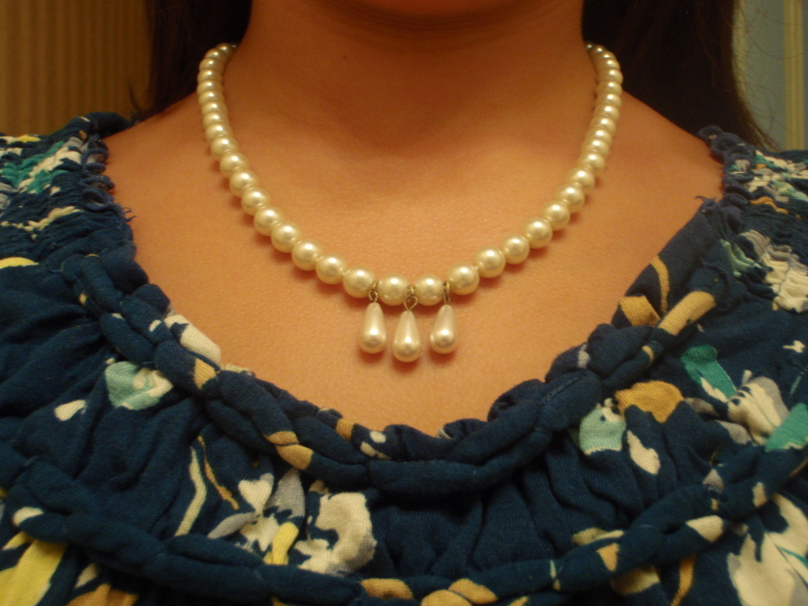 Elegant Pearl Necklace · A Beaded Necklace · Jewelry