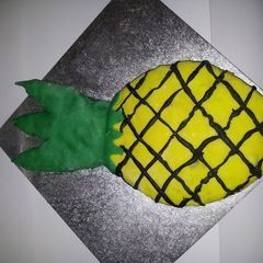 Psych Inspired Pineapple Cake