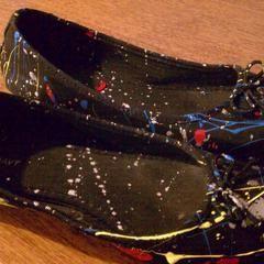Jackson Pollock Heels