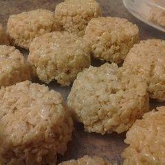 Round Rice Krispie Treats