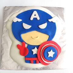 Captain America Pistachio Cake