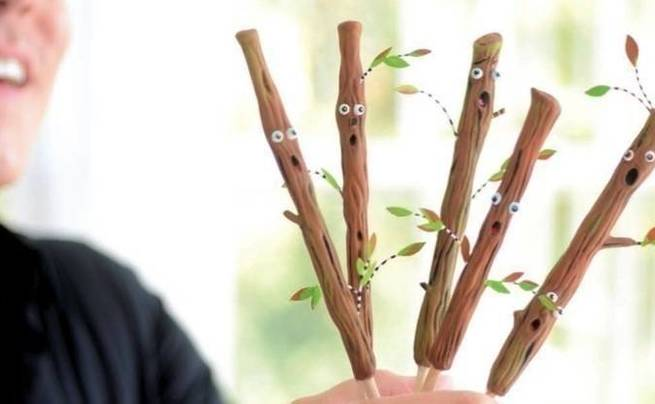 Spooky Forest Sticks