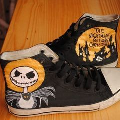The Nightmare Before Christmas/ Jack Skellington Sneakers