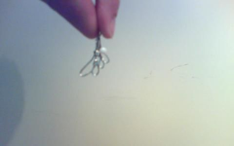 Silver wing...Made out of PAPERCLIPS! .  Make a charm necklace in under 60 minutes by jewelrymaking and metalworking with paperclip and jewelery. Inspired by clothes & accessories. Creation posted by Anime L. Difficulty: Simple. Cost: No cost.
