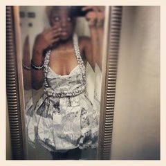 Newspaper Dress